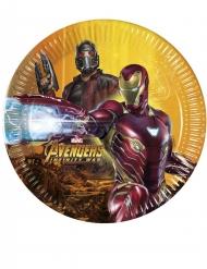 8 Piatti Avengers Infinity War™ 20 cm