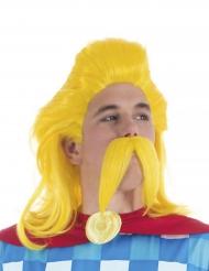 Parrucca e baffi Assurancetourix™ Asterix e Obelix™