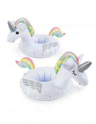 2 Porta bicchieri gonfiabili unicorno