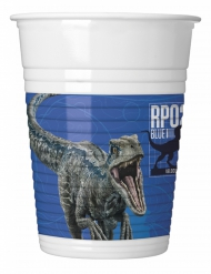 8 Bicchieri in plastica Jurassic World 2™ 200 ml
