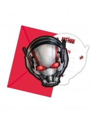 6 inviti e buste Ant-Man™
