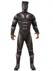 Costume Deluxe Black Panther™ per adulto