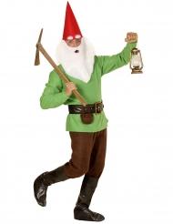 Costume da nano verde per adulto