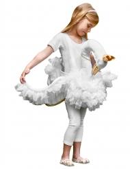 Costume bambina a dorso di cigno