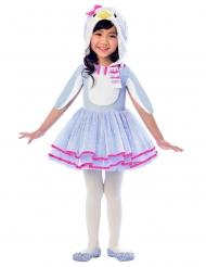 Costume da pinguino azzurro per bambina