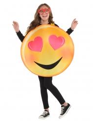 Costume da emoticon innamorata per bambino