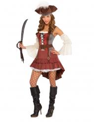 Costume da pirata voluttuosa per donna
