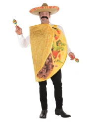 Costume da Tacos messicano per adulto