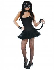Kit accessori da gatto nero sexy per donna