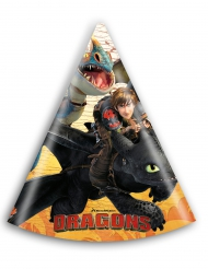 6 Cappelli da festa Dragon Trainer™