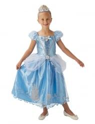 Costume da Cenerentola™ con corona per bambina