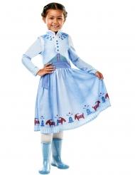 Costume Anna Natale con Olaf™ Frozen™ per bambina