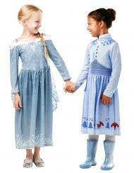 Costume Elsa Le Avventure di Olaf™ per bambina
