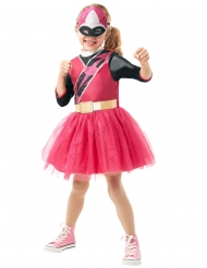 Costume classico Power Rangers Ninja Steel™ rosa bambina