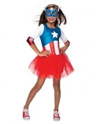 Costume da Captain America™ per bambina