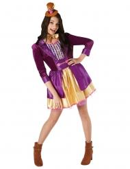 Costume Willy Wonka e la fabbrica di Cioccolato™ per donna