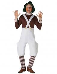 Parrucca Umpa Lumpa™ La fabbrica di Cioccolato™ per adulto