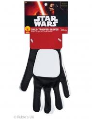 Guanti Stormtrooper Star Wars™ per bambino