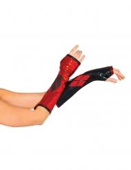 Mezzi Guanti Harley Quinn™ per donna