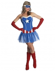 Costume Capitan America™ Donna
