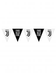 Festone con bandierine Juventus™ bianco e nero
