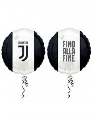Palloncino in alluminio Juventus™ nero e bianco