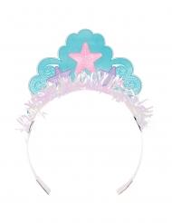 8 Coroncine da principessa sirena iridescente