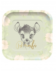 4 Piatti premium quadrati Bambi™