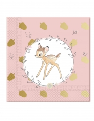 20 Tovaglioli premium Bambi™