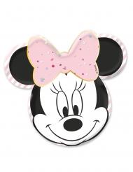 4 piatti premium in cartone viso di Minnie™
