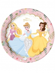 8 Piatti premium in cartone Principesse Disney™