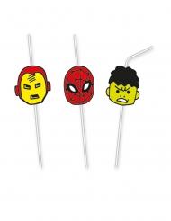 6 Cannucce premium Avengers™ Pop Comic