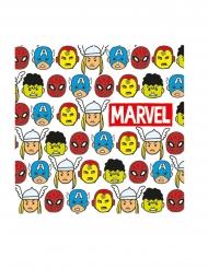 20 Tovaglioli in carta premium Avengers™ Pop Comic
