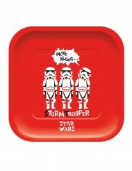 4 Piatti in cartone premium Star Wars™