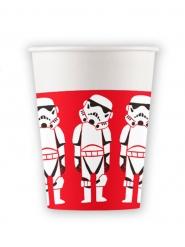 8 Bicchieri in cartone premium Star Wars™