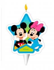 Candelina di compleanno Minnie e Topolino™