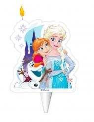 Candelina di compleanno Frozen™ Elsa Anna e Olaf™