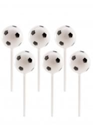6 Palloni da calcio in plastica su pic