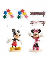 Kit decorazioni per torta Minnie e Topolino™