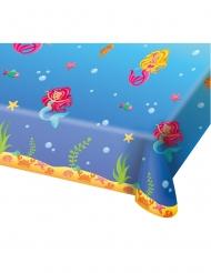 Tovaglia in plastica sirena blu