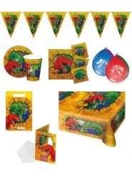 Kit festa compleanno dinosauri 8 pezzi