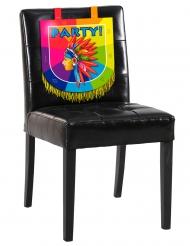 Decorazione da sedia in cartone Indiani