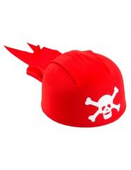 Bandana da pirata rossa per bambino