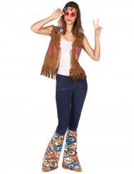 Kit accessori da hippie retrò per adulto