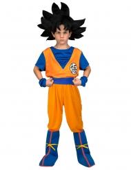 Cofanetto costume con parrucca Goku Dragon Ball™ bambino