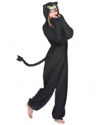 Costume tuta pantera nera per donna