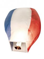 Lantera volante con tricolore Francia