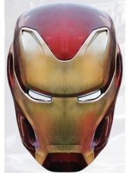 Maschera in cartone Iron Man Avengers Infinity War™ adulto