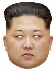 Maschera di cartone Kim Jong Un
