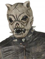 Maschera in latex cane feroce adulto